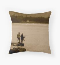 Old Pastimes Never Grow Old  Throw Pillow