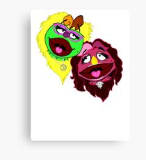Best Muppets Forever Canvas Print