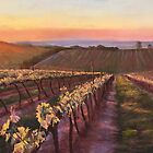 'Glowing Vines - Upton Hill' by Lynda Robinson
