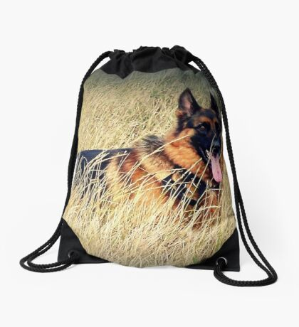 Straw Dog! Drawstring Bag