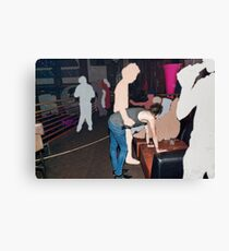 Loving the Nightlife - #56 Canvas Print