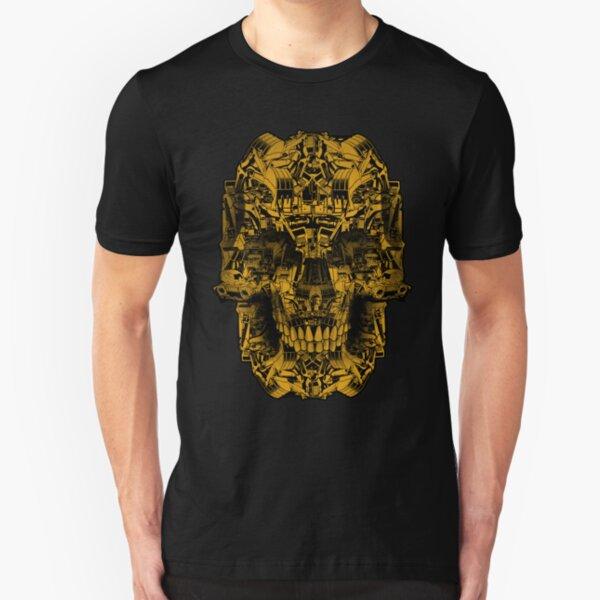 Skull Heavy Equipment Slim Fit T-Shirt
