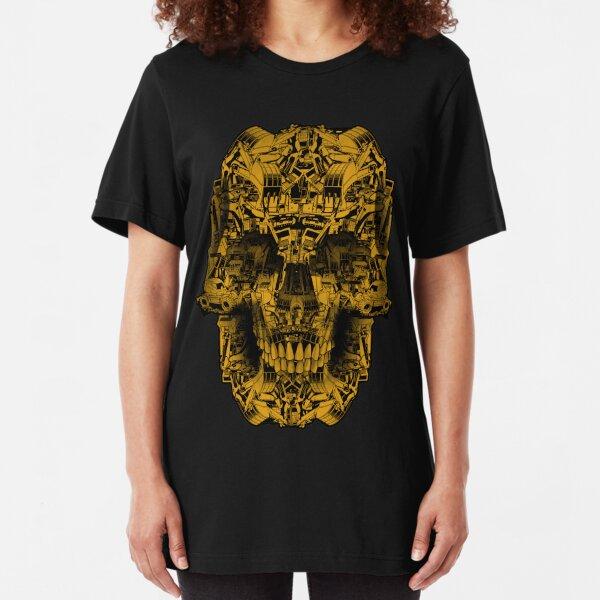 Skull Heavy Equipment Slim Fit T-Shirt