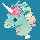 Zombie Unicorn by Anushbanush