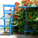 Blue Chair by RightSideDown