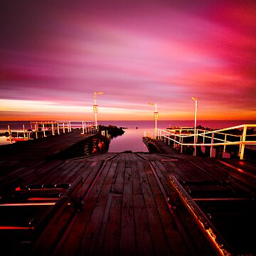 Launched - Williamstown Beach Jetty by Jyedsn