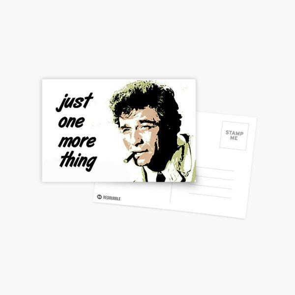 Columbo Carte postale
