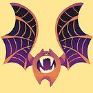 Spider Pumpkin Bat by Anushbanush