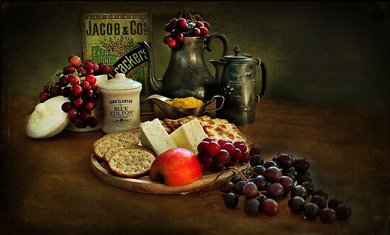 Cheese and Crackers.! by Irene  Burdell