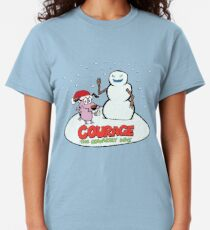 Courage the Cowardly Dog - Color Logo Classic T-Shirt
