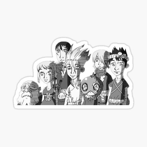 Dr. Stone Sticker Sticker