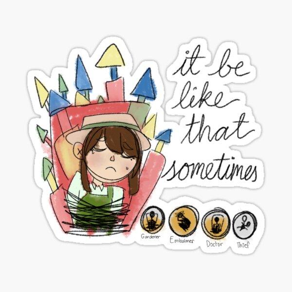 when ur team is dying :( Sticker