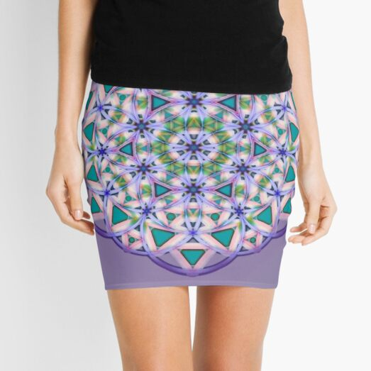 #Pattern, #design, #tracery, #weave  Mini Skirt
