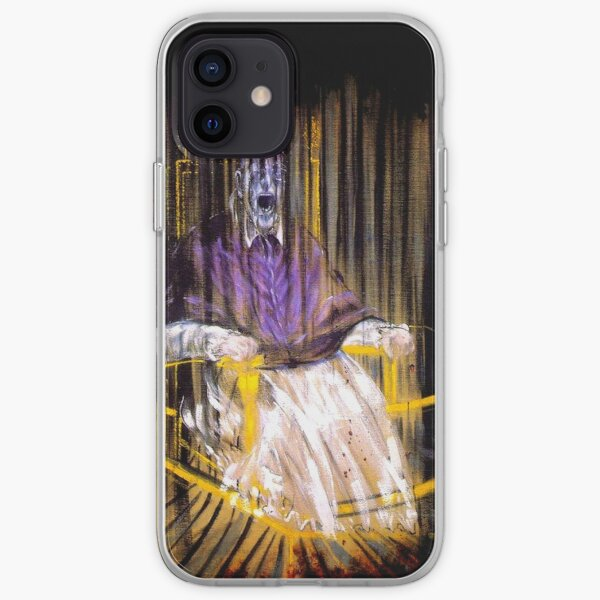Francis Bacon Screaming Pope painting art lover gift t shirt iPhone Soft Case