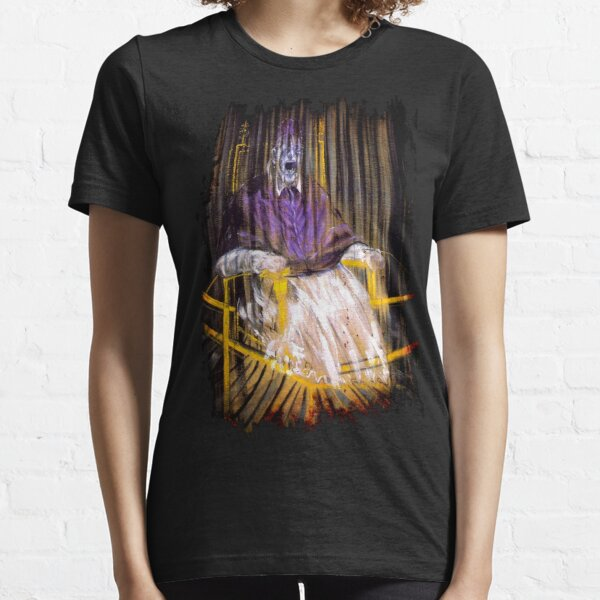 Francis Bacon Screaming Pope painting art lover gift t shirt Essential T-Shirt
