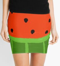 Watermelon Sliced Mini Skirt