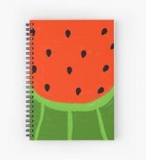 Watermelon Sliced Spiral Notebook