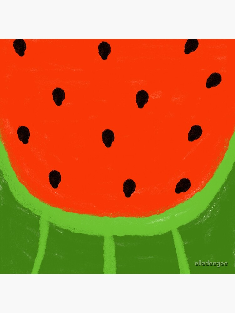 Watermelon Sliced by elledeegee