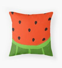 Watermelon Sliced Throw Pillow