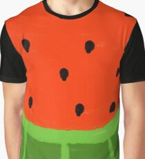 Watermelon Sliced Graphic T-Shirt