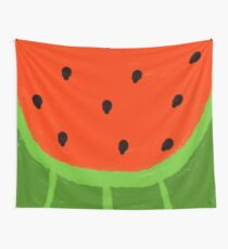 Watermelon Sliced Wall Tapestry
