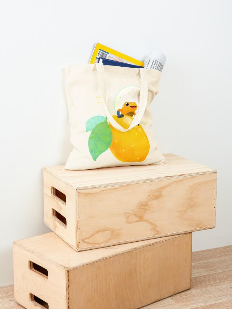Alternate view of Golden poison lemon sherbet 1 Tote Bag