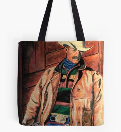 Workin' Man Of The West Tote Bag