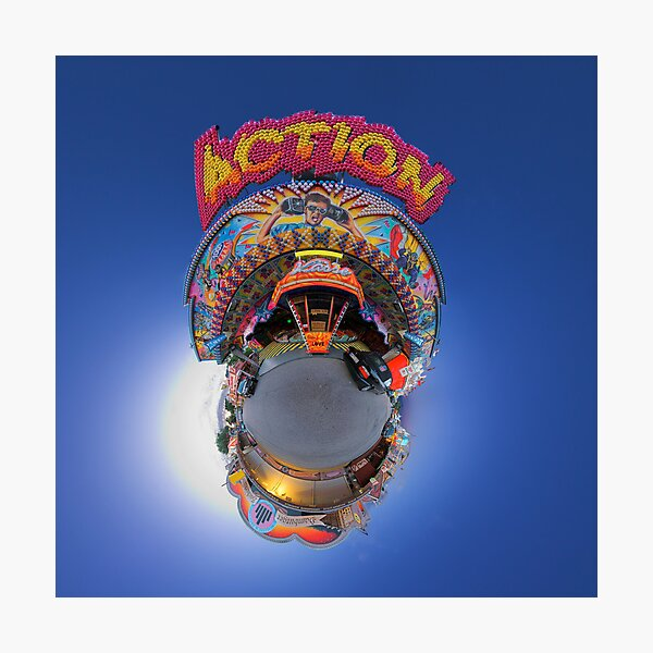 action Photographic Print