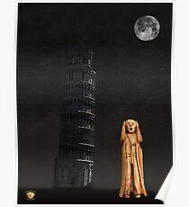 Pisa The Scream World Tour Poster