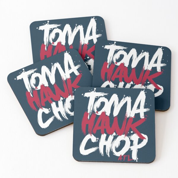 Tomahawk Chop Coasters (Set of 4)