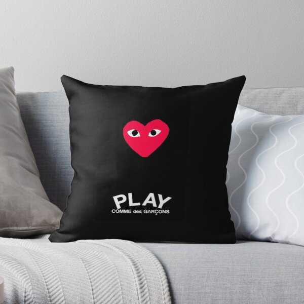 comme des garcons Throw Pillow