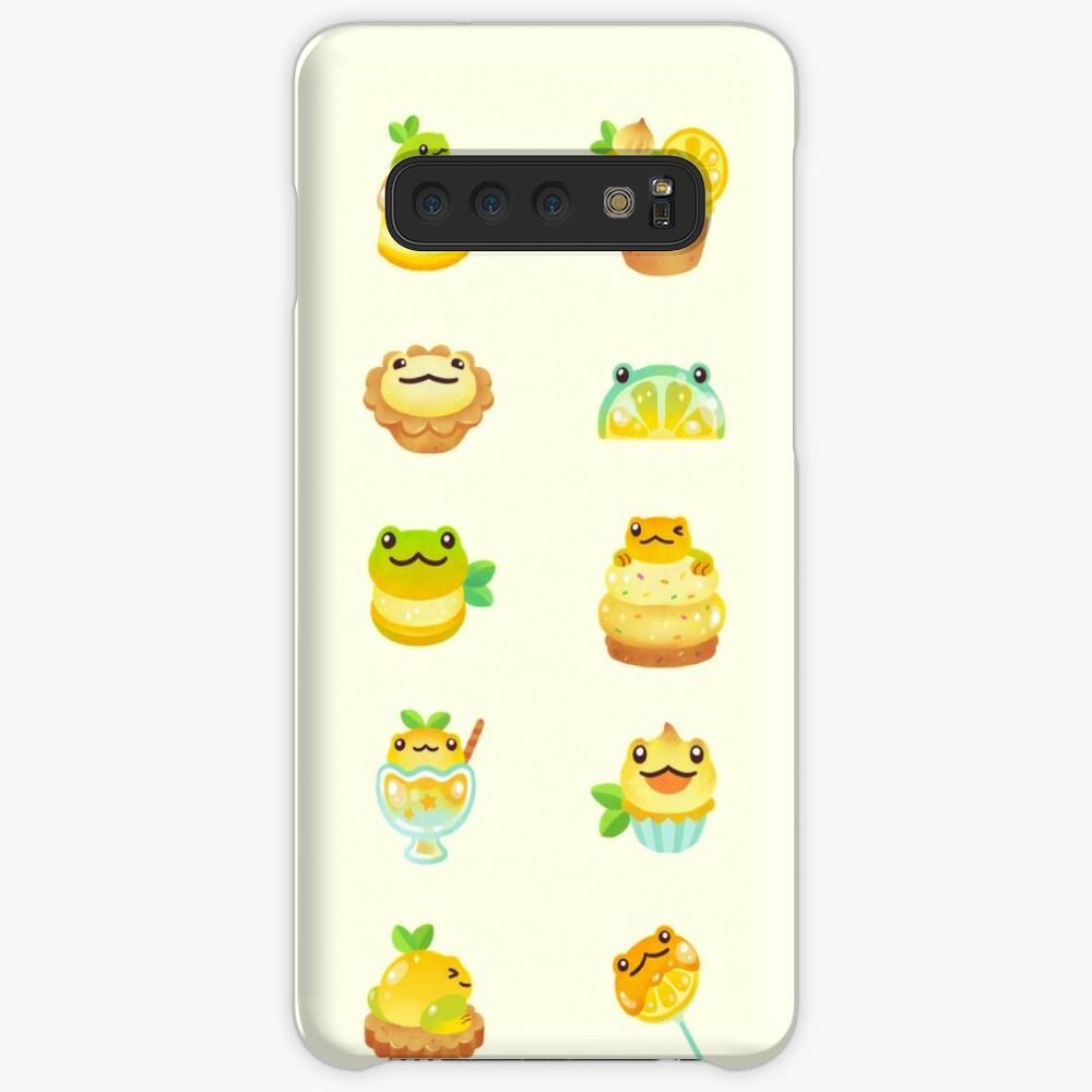 Sweet Lemon frog Case & Skin for Samsung Galaxy