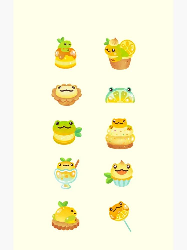 Sweet Lemon frog by pikaole