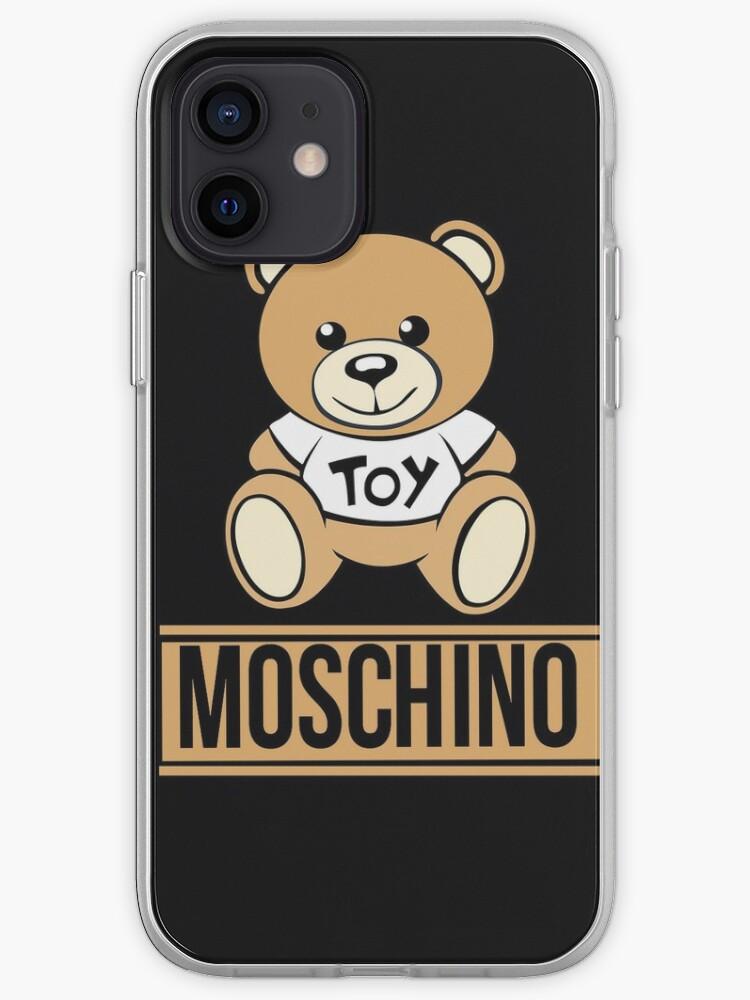 logo ours noir   Coque iPhone
