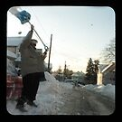 snow thrower by Jason Platt