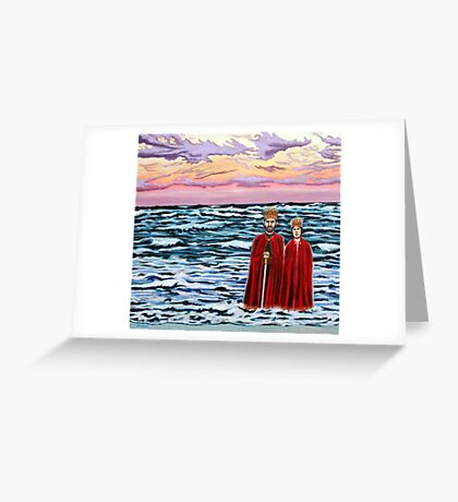 'The King & Queen of Everything' Greeting Card