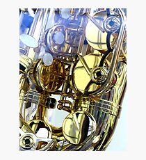 GOLDEN NOTES Photographic Print