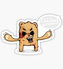 Childhood Problems Sticker