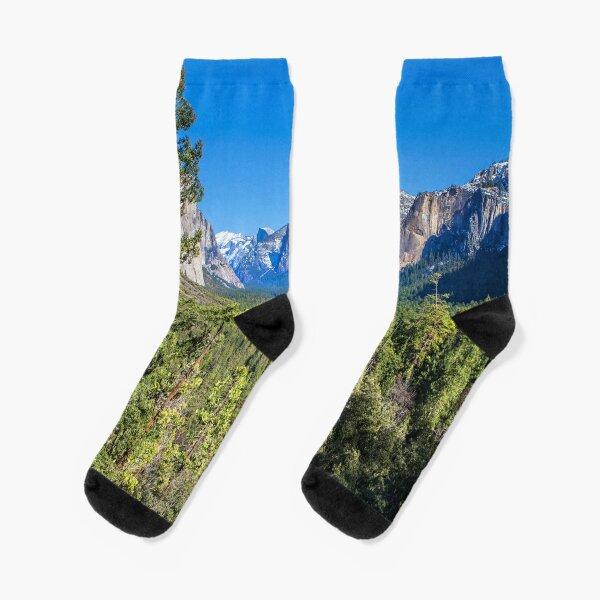 Yosemite Valley Socks