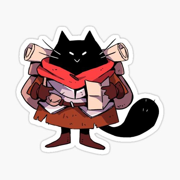 Adventurous Kitty Sticker