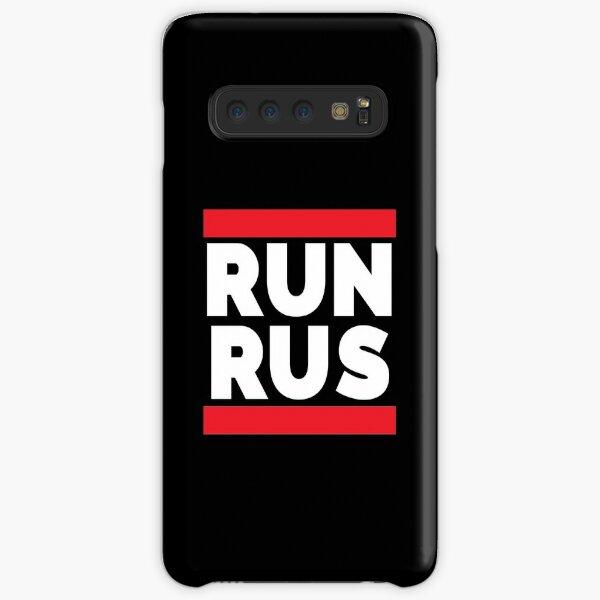 RUN RUS as Run Russia Samsung Galaxy Snap Case