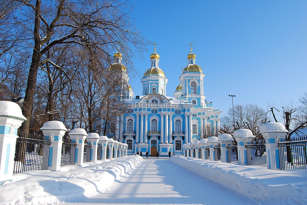 Image result for st petersburg in the snow