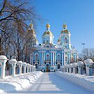 St. Nicholas Cathedral, St Petersburg, Russia by inglesina