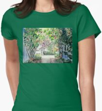 Roses in  a Swedish Courtyard T-Shirt