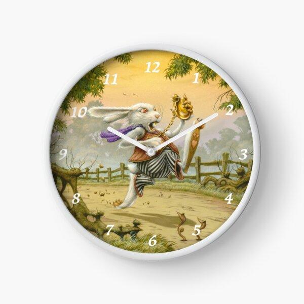 I'm Late! - Alice in Wonderland Clock