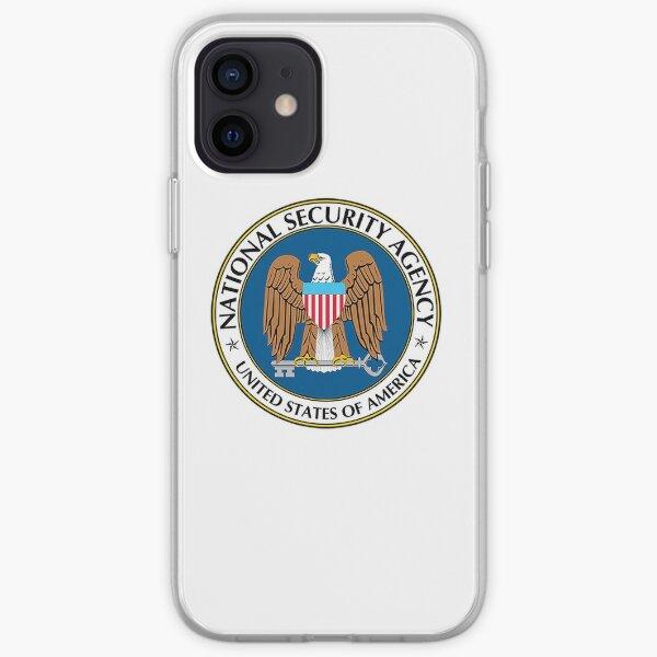 NSA logo iPhone Soft Case