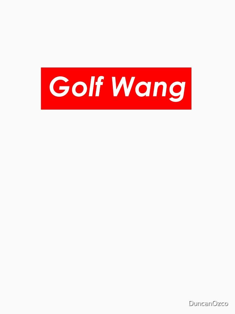 Golf Wang Supreme Logo | Unisex T-Shirt