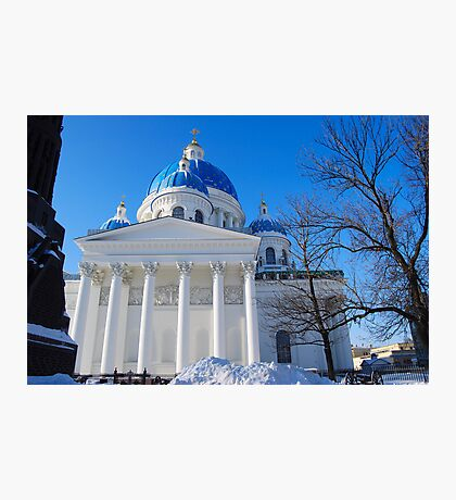 The Trinity Cathedral, St Petersburg, Russia Photographic Print