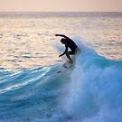 Sunset Surfer by kevin smith  skystudiohawaii