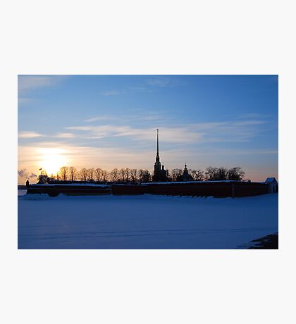 The Peter and Paul Fortress, St Petersburg, Russia Photographic Print